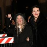 Foto Nicoloro G.   07/12/2019   Milano    Serata inaugurale della stagione 2019-2020 del Teatro alla Scala. nella foto Patti Smith con la figlia.