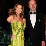 Foto Nicoloro G.   07/12/2019   Milano    Serata inaugurale della stagione 2019-2020 del Teatro alla Scala. nella foto l' imprenditore Arturo Artom con la moglie.