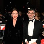 Foto Nicoloro G.   07/12/2019   Milano   Serata inaugurale della stagione 2019-2020 del Teatro alla Scala. nella foto Maria Elena Boschi con Ivan Scalfarotto.