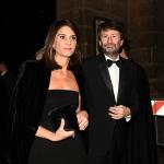 Foto Nicoloro G.   07/12/2019   Milano    Serata inaugurale della stagione 2019-2020 del Teatro alla Scala. nella foto il ministro Dario Franceschini con la moglie.