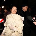 Foto Nicoloro G.   07/12/2019   Milano    Serata inaugurale della stagione 2019-2020 del Teatro alla Scala. nella foto l' etoile Carla Fracci con il marito Beppe Menegatti.