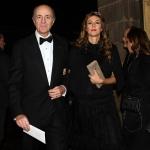 Foto Nicoloro G.   07/12/2019   Milano   Serata inaugurale della stagione 2019-2020 del Teatro alla Scala. nella foto il banchiere Corrado Passera con la moglie Giovanna Salza.