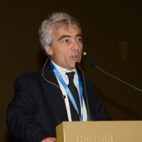 """Foto Nicoloro G. 15/11/2013 Milano Quinta edizione di """" Science for Peace """" due giorni di dibattiti dedicati agli scienziati impegnati per la Pace. nella foto Tito Boeri"""