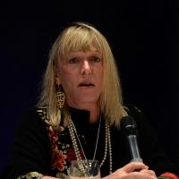 """Foto Nicoloro G. 15/11/2013 Milano Quinta edizione di """" Science for Peace """" due giorni di dibattiti dedicati agli scienziati impegnati per la Pace. nella foto Jody Williams"""