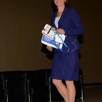 """Foto Nicoloro G. 15/11/2013 Milano Quinta edizione di """" Science for Peace """" due giorni di dibattiti dedicati agli scienziati impegnati per la Pace. nella foto Kathleen Kennedy Townsend"""