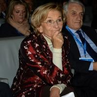"""Foto Nicoloro G.  16/11/2013  Milano   Quinta edizione di """" Science for Peace """" due giorni di dibattiti dedicati agli scienziati impegnati per la Pace. nella foto il ministro Emma Bonino."""