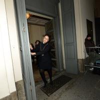 Foto Nicoloro G. 07/12/2013 Milano Tradizionale Prima alla Scala che annovera quest' anno anche la presenza del Capo dello Stato. nella foto Apertura per gli spettatori