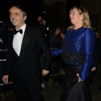 Foto Nicoloro G. 07/12/2013 Milano Tradizionale Prima alla Scala che annovera quest' anno anche la presenza del Capo dello Stato. nella foto Nerio Alessandri e la moglie
