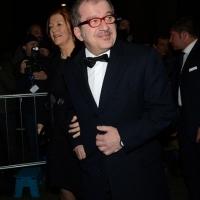Foto Nicoloro G. 07/12/2013 Milano Tradizionale Prima alla Scala che annovera quest' anno anche la presenza del Capo dello Stato. nella foto Roberto Maroni e la moglie