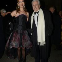 Foto Nicoloro G. 07/12/2013 Milano Tradizionale Prima alla Scala che annovera quest' anno anche la presenza del Capo dello Stato. nella foto Adriano Teso e la moglie Laura