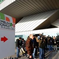 Foto Nicoloro G. 15/12/2013 Milano Prima Assemblea Nazionale del PD dopo le elezioni di Matteo Renzi a segretario. nella foto Ingresso alla aula dell'Assemblea