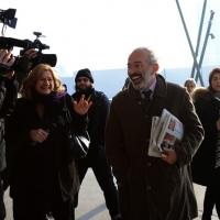 Foto Nicoloro G. 15/12/2013 Milano Prima Assemblea Nazionale del PD dopo le elezioni di Matteo Renzi a segretario. nella foto Gad Lerner