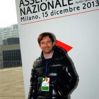 Foto Nicoloro G. 15/12/2013 Milano Prima Assemblea Nazionale del PD dopo le elezioni di Matteo Renzi a segretario. nella foto Pippo Civati