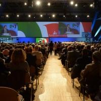 Foto Nicoloro G. 15/12/2013 Milano Prima Assemblea Nazionale del PD dopo le elezioni di Matteo Renzi a segretario. nella foto Una veduta dell'aula dell'Assemblea