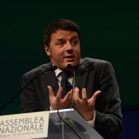 Foto Nicoloro G. 15/12/2013 Milano Prima Assemblea Nazionale del PD dopo le elezioni di Matteo Renzi a segretario. nella foto Matteo Renzi