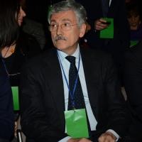 Foto Nicoloro G. 15/12/2013 Milano Prima Assemblea Nazionale del PD dopo le elezioni di Matteo Renzi a segretario. nella foto Massimo D' Alema