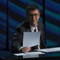 """Foto Nicoloro G. 09/12/2012 Milano Trasmissione televisiva su Rai3 """" Che tempo che fa """" condotta da Fabio Fazio. nella foto Fabio Fazio"""
