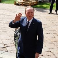 Foto Nicoloro G. 14/05/2012 Milano Si e' tenuta in Borsa la relazione annuale della Consob alla presenza del Capo dello Stato Giorgio Napolitano. nella foto Ennio Doris