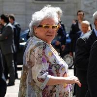 Foto Nicoloro G. 14/05/2012 Milano Si e' tenuta in Borsa la relazione annuale della Consob alla presenza del Capo dello Stato Giorgio Napolitano. nella foto Livia Pomodoro