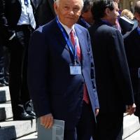 Foto Nicoloro G. 14/05/2012 Milano Si e' tenuta in Borsa la relazione annuale della Consob alla presenza del Capo dello Stato Giorgio Napolitano. nella foto Salvatore Ligresti