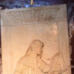Foto Nicoloro G.   17/10/2020   Ravenna   Ricollocamento nella tomba di Dante della Croce d' oro donata nel 1965 da papa Paolo VI e recentemente benedetta da papa Francesco. nella foto la Croce d' oro donata nel 1965 da papa Paolo VI e recentemente benedetta da papa Francesco.
