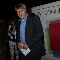 Foto Nicoloro G.  06/05/2014  Rimini   Si è aperto ufficialmente il 17° Congresso della CGIL. nella foto il segretario generale FIOM Maurizio Landini.