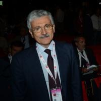 Foto Nicoloro G.  06/05/2014  Rimini   Si è aperto ufficialmente il 17° Congresso della CGIL. nella foto l' arrivo di Massimo D'Alema.