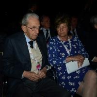 Foto Nicoloro G. 06/05/2014  Rimini   Si è aperto ufficialmente il 17° Congresso della CGIL. nella foto il presidente ANPI Carlo Smuraglia e Susanna Camusso.