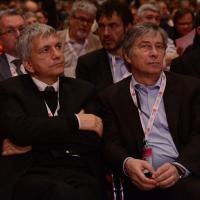Foto Nicoloro G.  06/05/2014  Rimini   Si è aperto ufficialmente il 17° Congresso della CGIL. nella foto il presidente SEL Nichi Vendola e il governatore regione Emilia-Romagna Vasco Errani.