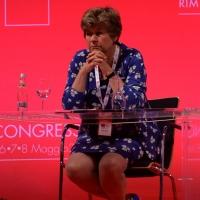Foto Nicoloro G. 06/05/2014  Rimini   Si è aperto ufficialmente il 17° Congresso della CGIL. nella foto il segretario generale CGIL Susanna Camusso.