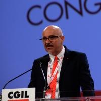 Foto Nicoloro G. 06/05/2014  Rimini   Si è aperto ufficialmente il 17° Congresso della CGIL. nella foto il segretario della Camera del Lavoro di Rimini Graziano Urbinati.