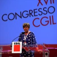 Foto Nicoloro G.  06/05/2014  Rimini   Si è aperto ufficialmente il 17° Congresso della CGIL. nella foto il segretario generale Susanna Camusso.
