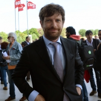 Foto Nicoloro G. 06/05/2014  Rimini   Si è aperto ufficialmente il 17° Congresso della CGIL. nella foto Pippo Civati.