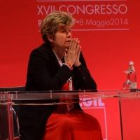 Foto Nicoloro G.  08/05/2014  Rimini  Terza e conclusiva giornata del 17° Congresso della CGIL. nella foto Susanna Camusso.