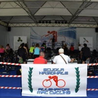 """Foto Nicoloro G.   30/05/2014   Rimini   Si è aperta la 9° edizione di """" Rimini Wellness """". nella foto lo stand della Scuola Nazionale Allenatori."""