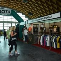 """Foto Nicoloro G.   30/05/2014   Rimini   Si è aperta la 9° edizione di """" Rimini Wellness """". nella foto lo stand dell' Esercito Italiano."""