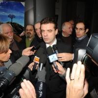 """Foto Nicoloro G. 04/12/2011 Vicenza Dopo quattro anni si riunisce il Parlamento Padano nella sua sede di villa """" La Favorita """". nella foto Roberto Cota"""