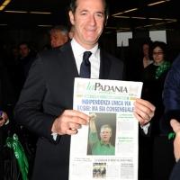 """Foto Nicoloro G. 04/12/2011 Vicenza Dopo quattro anni si riunisce il Parlamento Padano nella sua sede di villa """" La Favorita """". nella foto Luca Zaia"""