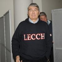 """Foto Nicoloro G. 04/12/2011 Vicenza Dopo quattro anni si riunisce il Parlamento Padano nella sua sede di villa """" La Favorita """". nella foto Roberto Castelli"""