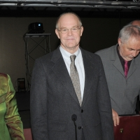 """Foto Nicoloro G. 19/11/2010 Milano, Seconda edizione della conferenza internazionale """" Science for Peace """" organizzata dalla """" Fondazione Veronesi """". In questa seconda giornata il tema e' """" Strategie e modelli per un processo di Pace """". nella foto William Vendley"""