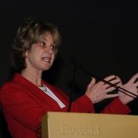 """Foto Nicoloro G. 16/11/2012 Milano Quarta Conferenza Mondiale """" Science for Peace """" in cui si analizzano le cause all' origine di conflitti e le soluzioni che la Scienza offre per la prevenzione e la risoluzione. In questa edizione esperti internazionali parlano di pena di morte ed ergastolo, accesso alle risorse e coesione sociale. nella foto Kathleen Kennedy Townsend"""