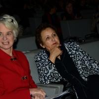 """Foto Nicoloro G.   14/11/2014   Milano     Sesta Conferenza Mondiale """" Science for Peace """" dal titolo """" Pace come condizione del benessere """". nella foto Kathleen Kennedy Townsend, vicepresidente di Science for Peace, a sinistra, e Shirin Ebadi,  premio Nobel per la Pace 2003."""
