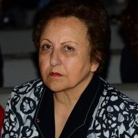 """Foto Nicoloro G.   14/11/2014   Milano     Sesta Conferenza Mondiale """" Science for Peace """" dal titolo """" Pace come condizione del benessere """". nella foto Shirin Ebadi,  premio Nobel per la Pace 2003."""