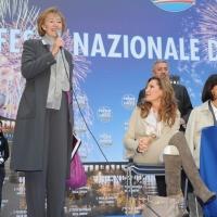 Foto Nicoloro G.  27/09/2010 Milano  Seconda Festa Nazionale della Liberta' organizzata dal PdL al Castello Sforzesco. nella foto Letizia Moratti – Daniela Santanchè'