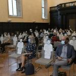 Foto Nicoloro G.   02/10/2020   Ravenna          ' Seduti accanto a Zaky ' e' un' iniziativa di solidarieta', verso lo studente egiziano, organizzata dalla Biblioteca Classense di Ravenna. nella foto una veduta della sala della Biblioteca Classense.