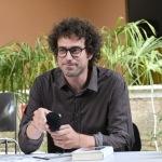 01/07/2021   Ravenna   Serata inaugurale dell' ottava edizione di ' Scrittura Festival '. nella foto lo scrittore Matteo Cavezzali, direttore di Scrittura  Festival.