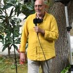 01/07/2021   Ravenna   Serata inaugurale dell' ottava edizione di ' Scrittura Festival '. nella foto Maurizio Tarantino, direttore della Biblioteca Classense sede dell' incontro.