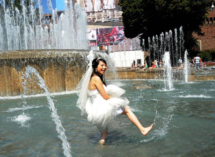 "Sposa bagnata, sposa fortunata"" | Giuseppe Nicoloro"