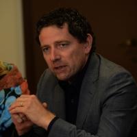 """Foto Nicoloro G.    17/09/2014     Ravenna    Conferenza stampa di """" Linea Rosa """", associazione di volontariato, per presentare la nuova iniziativa che vede la realizzazione di uno spot contro la violenza sulle donne. nella foto l' assessore allo sport Guido Guerrieri."""