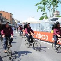 Foto Nicoloro G. 19/05/2011 Ravenna Dodicesima tappa del Giro d' Italia Castelfidardo-Ravenna di 184 Km. nella foto Bersaglieri in bicicletta